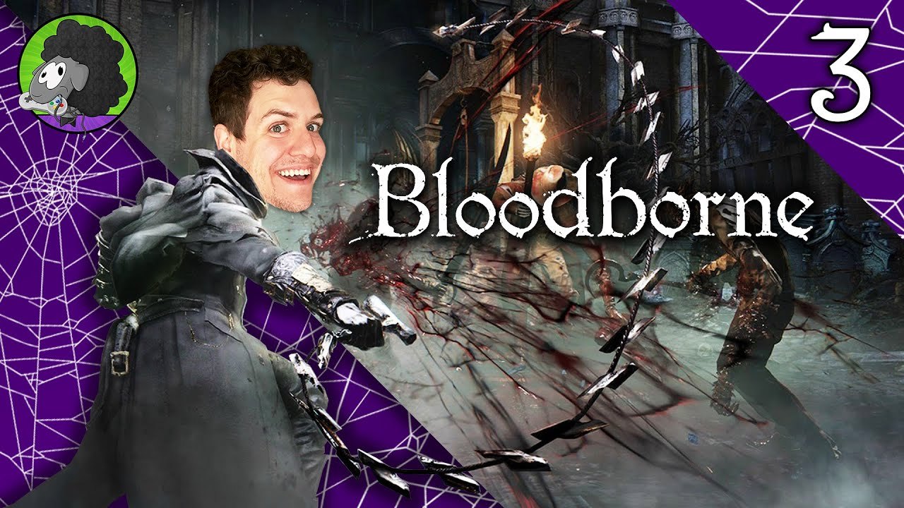 ROM HACK - Bloodborne NG+ Playthrough LIVE - Part 3