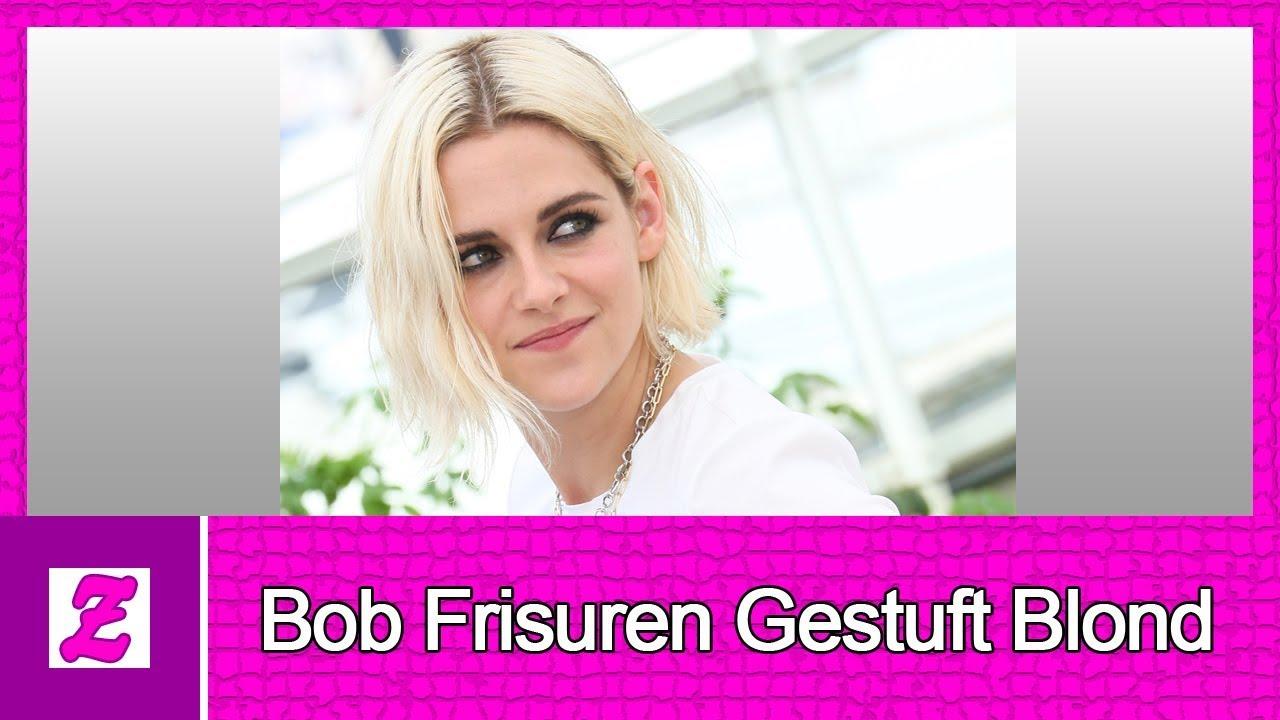 10 Beste Bob Frisuren Gestuft Blond Youtube