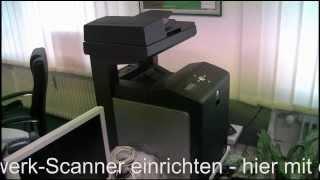 Netzwerk Scanner einrichten SMB - DELL 3115 cn