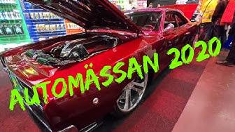 Automässan 2020 Göteborg