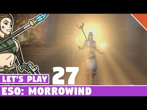 Divine Restoration Quest - Let's Play ESO: Morrowind! #27