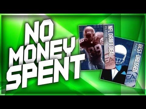 Madden Mobile 18 No Money Spent!! DRAFT PICK UPS EP.20!!