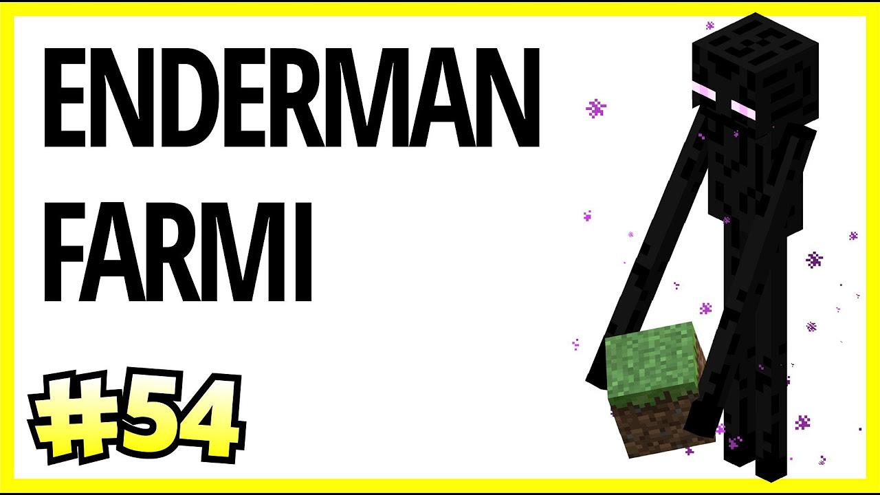 Enderman ve XP Farmı - Minecraft Türkçe Survival - Türkçe Minecraft - Bölüm 54