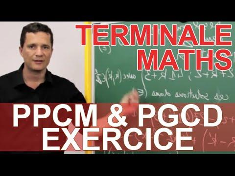 PPCM & PGCD - Exercice - MATHS - TS Spé Maths - Les Bons Profs