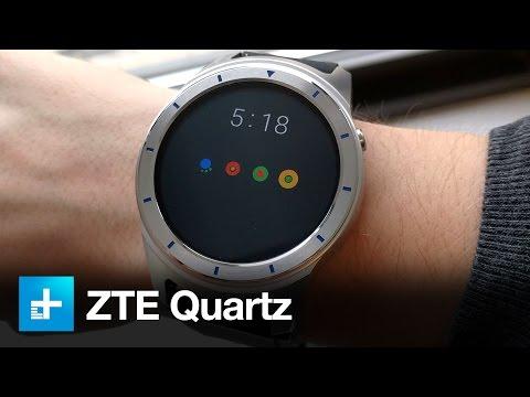 ZTE Quartz Smartwatch - Hands On Review