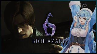 【BIOHAZARD 6】完全初見!レオン編:episode3~【雪花ラミィ/ホロライブ】