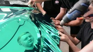 MINI Cooper S - Wrapped in Teal Chrome by Creative FX