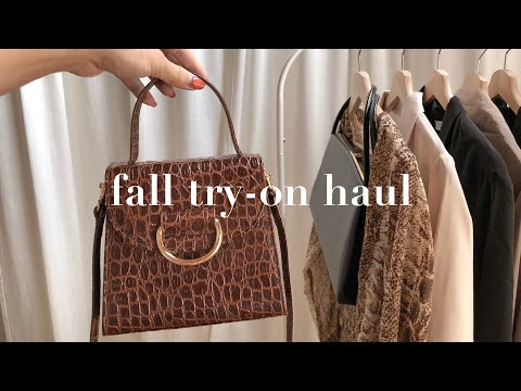 Fall Clothing Try-On Haul: Fall Fashion Trends I'm Loving 2018