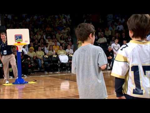 Georgia Tech Halftime Slam Dunk Contest