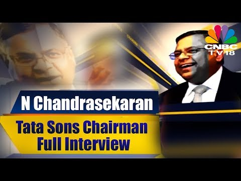 N Chandrasekaran Full Interview | Tata Sons Chairman | CNBC