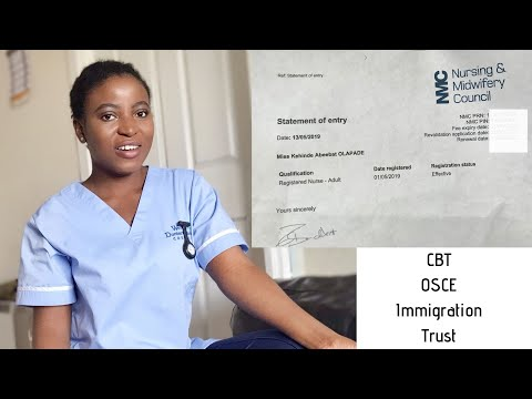 How I Got My UK Nursing License As A Nurse Trained Overseas | Kenny Olapade
