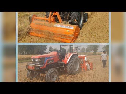 Super Seeder + Mulcher  Good Result   9814767091