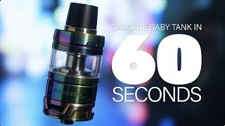Vaporesso Cascade Baby Sub-Ohm Tank Review - in 60 Seconds