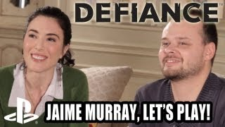 Defiance Gameplay - with Jaime Murray!