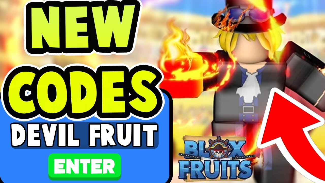 NEW BLOX FRUITS CODES! *FREE DEVIL FRUIT & MORE* All Blox ...