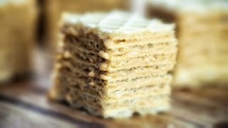 Dulce De Leche Wafers - Wafle z Masa Krowkowa - Recipe #145