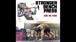 Bench Press Pain Free | SmashweRx | Trevor Bachmeyer