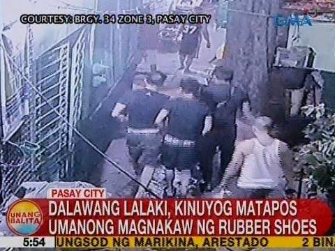 UB: Dalawang lalaki,  kinuyog matapos umanong magnakaw ng rubber shoes sa Pasay