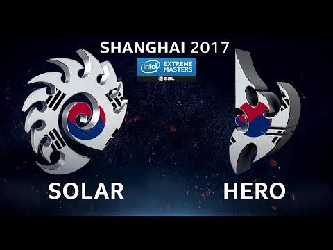 StarCraft II - Solar vs. herO [ZvP] - Group C - IEM Shanghai 2017