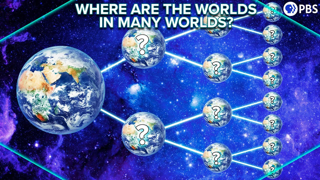 Where Are The Worlds In Many Worlds?