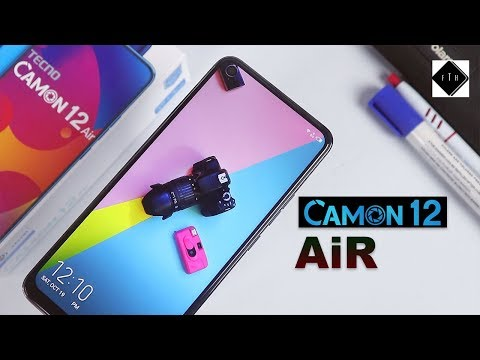 Tecno Camon 12 Air Unboxing and Review! A Tecno Device with a Dot Notch Display