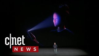 Apple explains Face ID on iPhone X (CNET News)