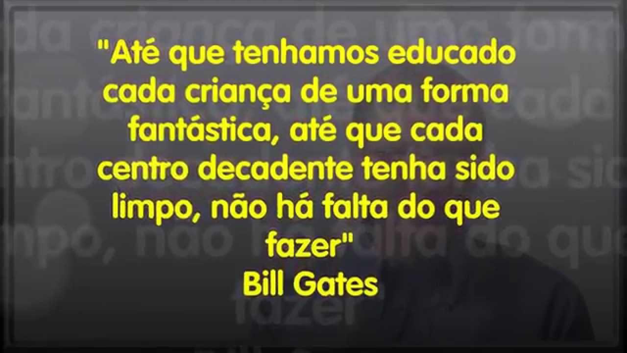 Frases Motivacionais De Bill Gates