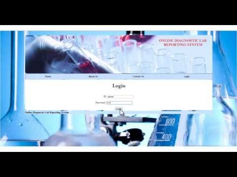Online Diagnostic Lab Reporting System