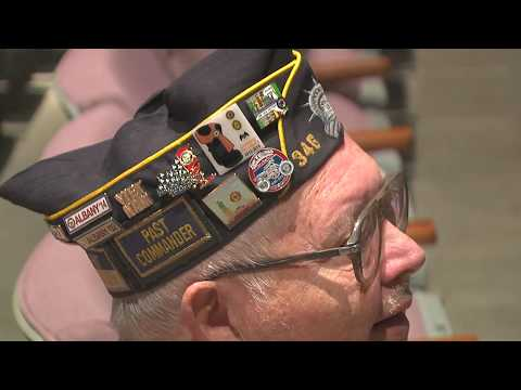"""Columbia-Greene CC """"Remembers All Who Served""""- lance wheeler video"""