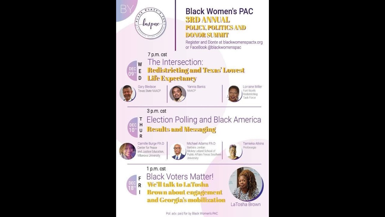 3rd Annual Policy, Politics & Donor Summit: Election Polling and Black America - Results & Messaging