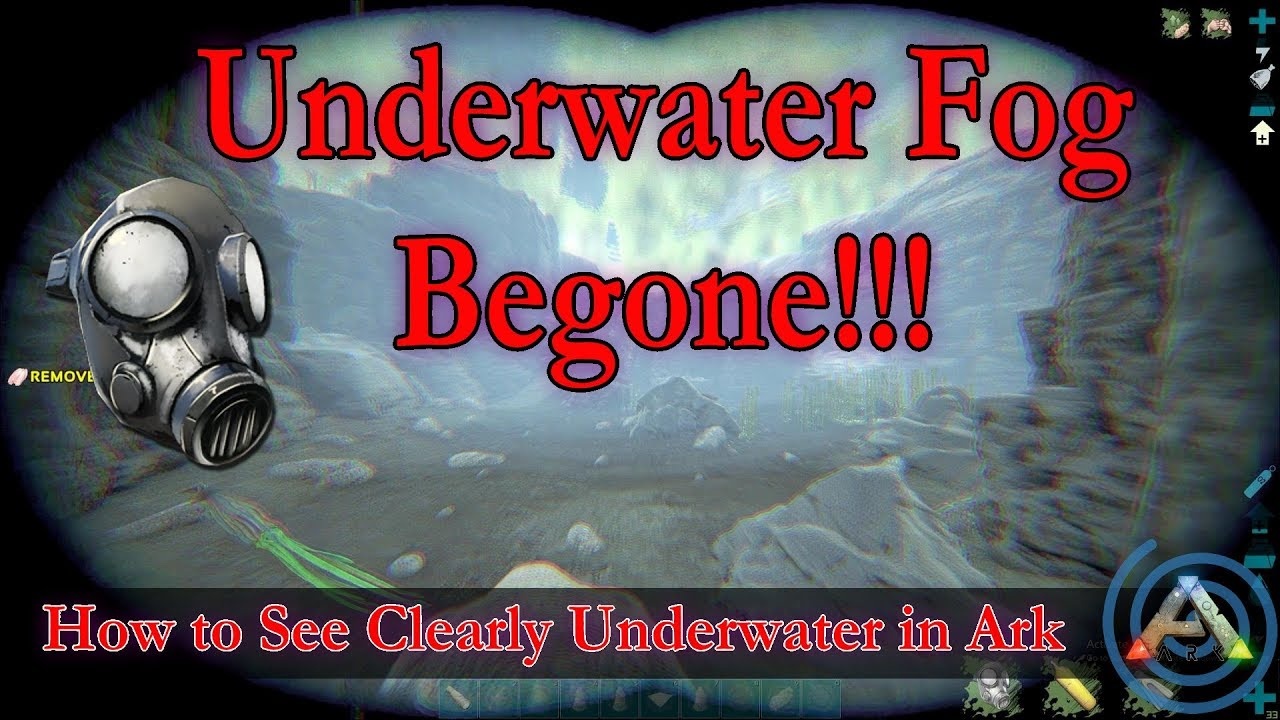 How to See Clearly Underwater in Ark: This trick eliminates the dreaded  underwater fog