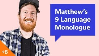 Baixar Babbel Voices | Matthew's 9 Language Monologue
