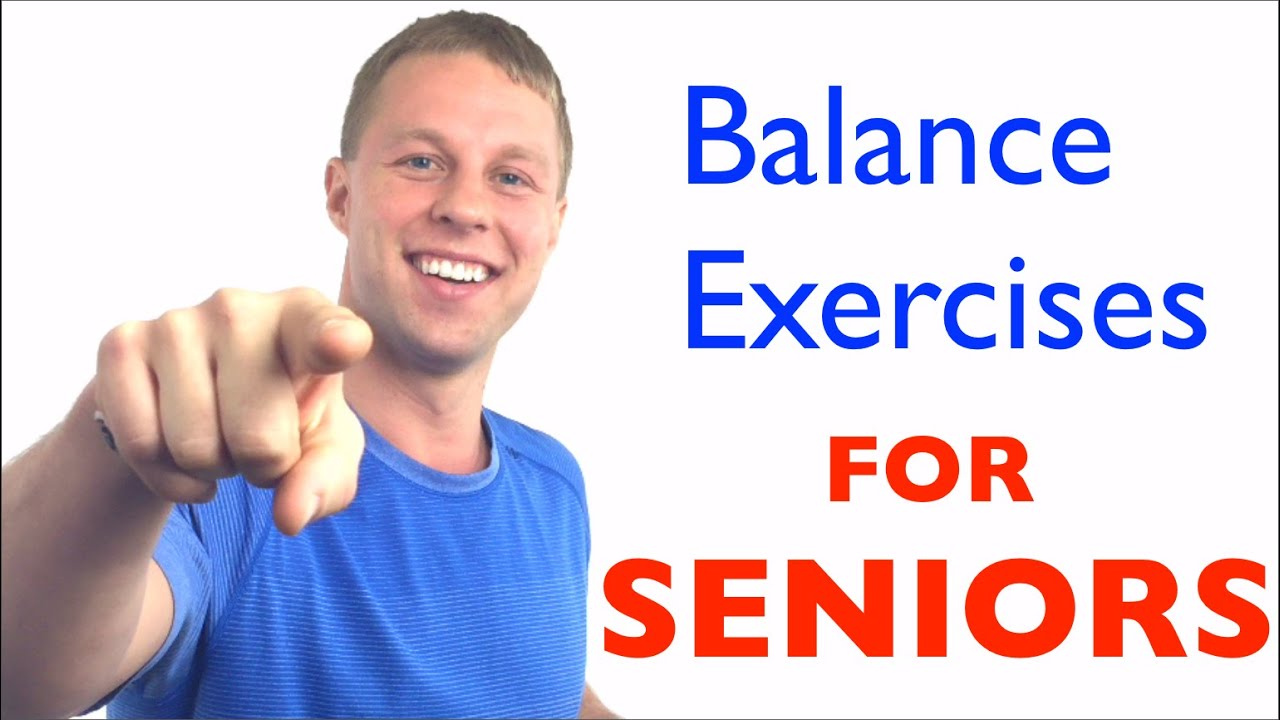 Chair exercises for seniors - Balance Exercises For Seniors Fall Prevention Balance Exercises For Elderly Youtube