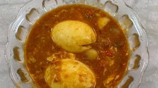 Egg Kulambu - Muttai Kulambu - Egg Recipes By Healthy Food Kitchen