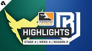 LA Valiant vs Boston Uprising | Stage 4 Week 4 Day 3 - Overwatch League S2 Highlights