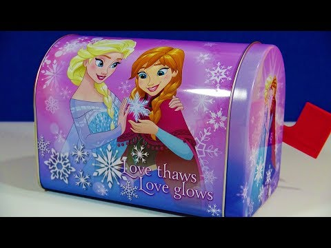 Disney Frozen Mailbox Toys Kinder Joy Surprise Egg Shopkins Gift Boxes Whisker Haven Palace Pets
