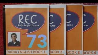 Learning English from RadjaEnglish book 3, page 8
