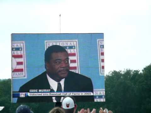 Eddie Murray & Sandy Koufax HOF 7-29-07