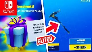 NEW Gifts GLITCH & ELECTROSWING 2? Today's Shop | Fortnite Switch