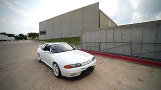 homepage tile video photo for FIRST DRIVE IN THE R32 GTR!!! (SOUNDS AMAZING!!))