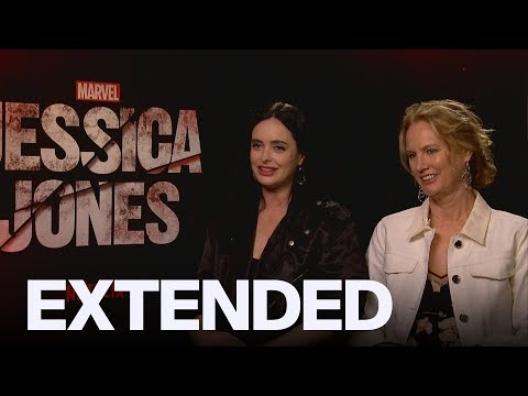 Krysten Ritter Talks Motherhood, Directing 'Jessica Jones' S3 | EXTENDED