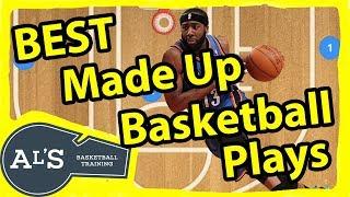 Top 5 Made Up Basketball Plays | Weird Basketball Plays
