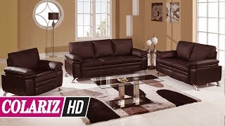 BEST COLLECTION! 55+ Stylish Leather Living Room Set You