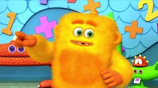 Monsters | Monster COMPILATION | Learn Math for Kids | Learning for kids