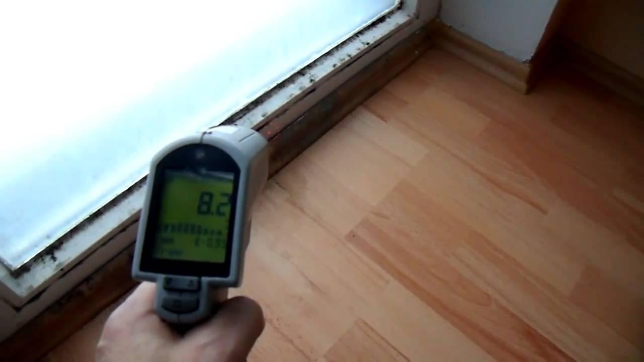 Schimmel in der Wohnung Schimmelpilz am Fenster - YouTube