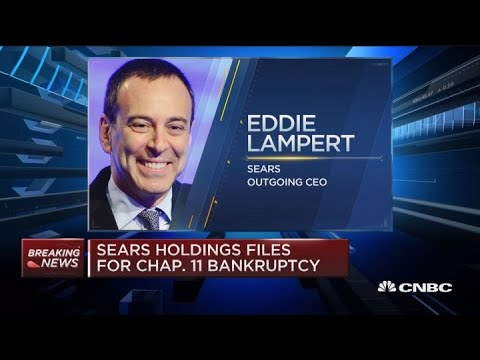 Sears Holdings Files For Chapter 11 Bankruptcy
