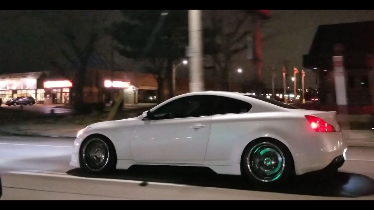 Motordyne G37 Coupe Loud Ripping It - SUPER CLEAN