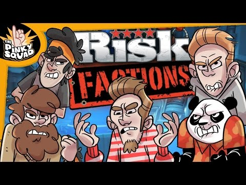 THE 5 MAN PINKY SQUAD WAR - RISK FACTIONS #9
