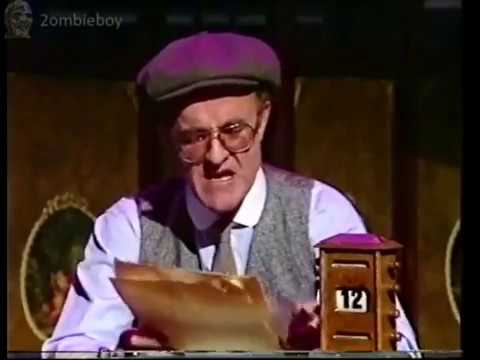 Frank Kelly Live On top of the pops Christmas Countdown TOTP (VHS Capture)