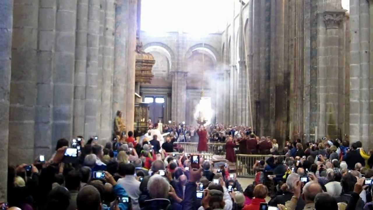 Botafumeiro santiago de compostela cathedral youtube - Arrokabe arquitectos santiago de compostela ...